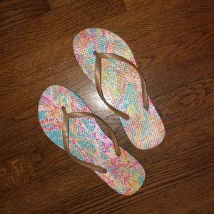 Lily Pulitzer Flip Flops